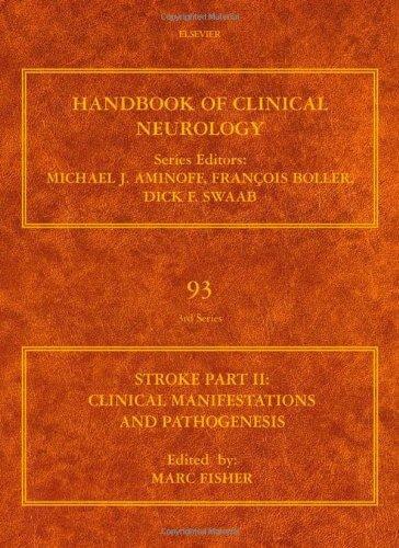 hand book of clinical neurology stroke part II Clinical manifestations and pathogenesis93 [شرکت غزال جوان]