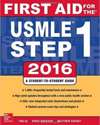 FIRST AID FOR THE usmle step 1 2016 [تیمورزاده]